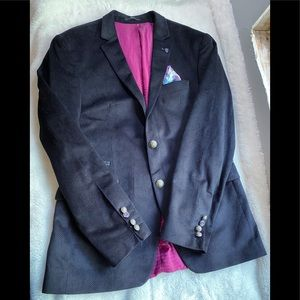 Ron Tomson RNT123 Fitted Blazer Notch Collar